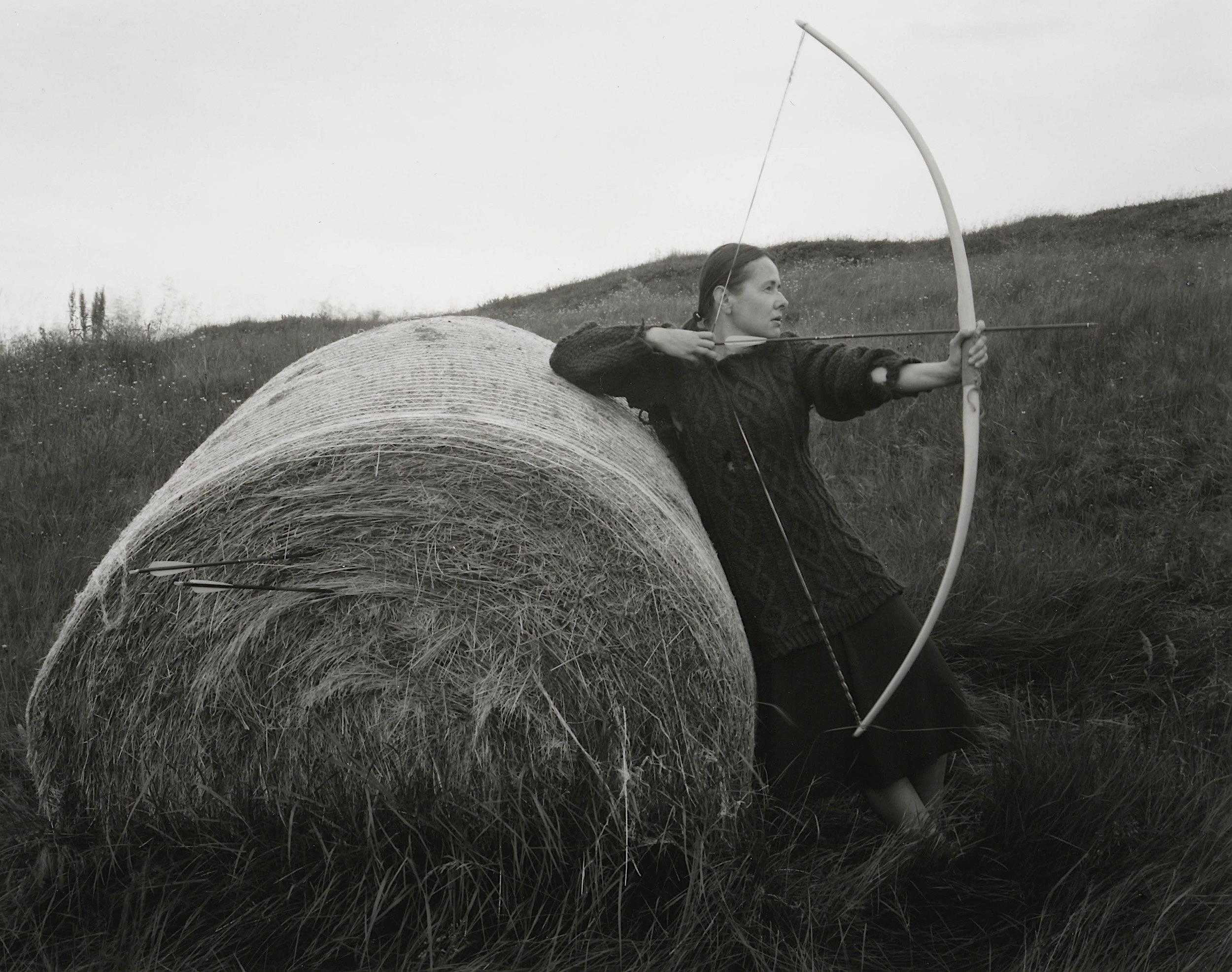05_Longbow Practice. Self Portrait.Kleppjárnsstaðir, Iceland. 2018.jpg