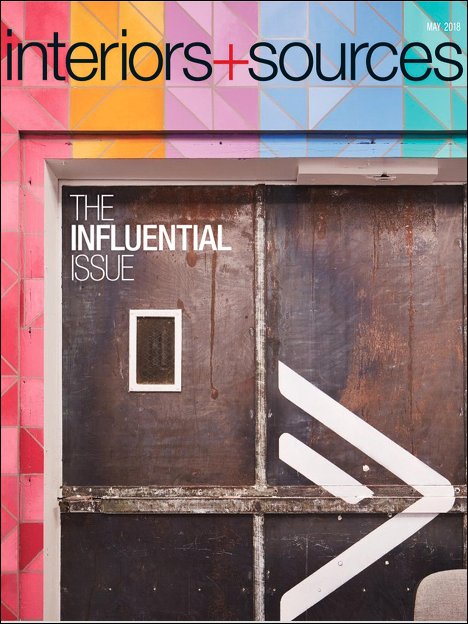 Interiors + Sources -