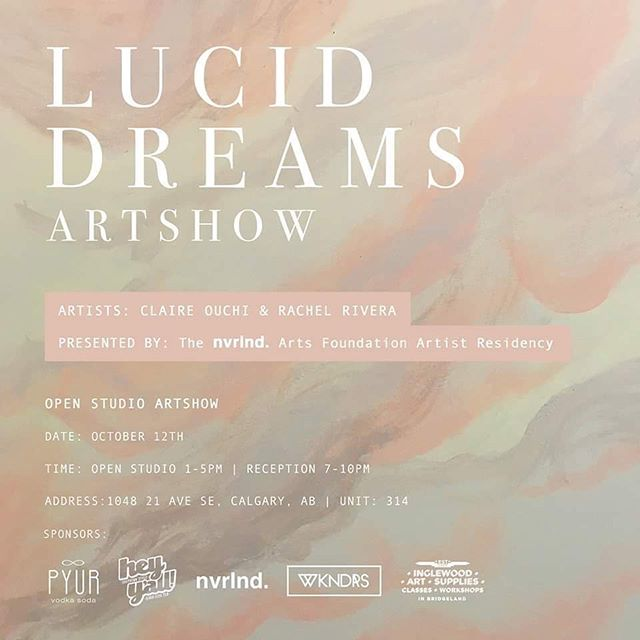 This Saturday! Our artists in residency @claireouchi and @radcastle of @wkndrsforlife are having an art show in their studio from 1-5 || and a reception from 7-9 || find them in nvrlnd. in studio 314