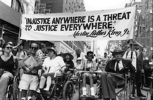 Today is the best day. It's the 29th Anniversary of the Americans with Disabilities Act 🇺🇸 and its the first day of the Open Style Lab Summer Program 2019. #inclusion #accessibility #disability #inclusion #civilrights #humanrights #diversityandinclusion #diversity #inclusionmatters #equality