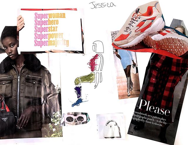 Jessica's mood board explores adaptive clothing designs for the seated body. We love this sporty & sleek look.