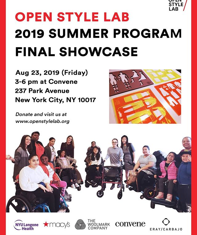 Please join us on Friday, August 23 from 3-6pm @convene 237 Park Ave in #NYC for the Summer Program 2019 Final Showcase. RSVP link in bio.