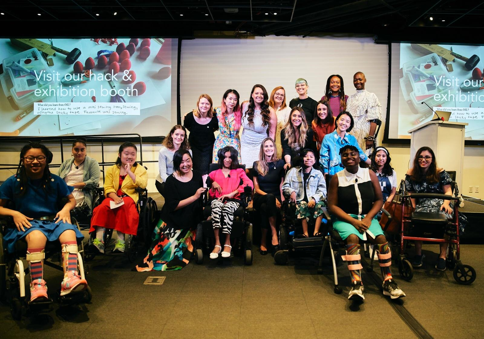 Open Style Lab 2019 Summer Lab in Collaboration with NYU Langone Health. Initiative for Women with Disabilities