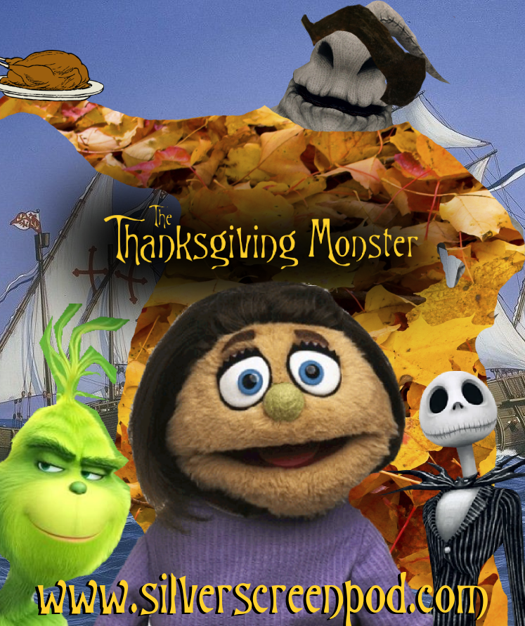 Yeeeah…I forgot we described the monster as being more of a Muppet version of Grimace and just made him a leaf version of Oogie Boogie. These are called Badly-Photoshopped Movie Posters for a reason
