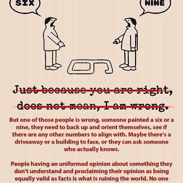 There is truth beyond your own personal interpretation... perspective, step back, and be open to facts that you may not agree with...