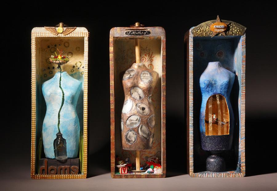 Motherhood Triptych: Mind, Body, Spirit