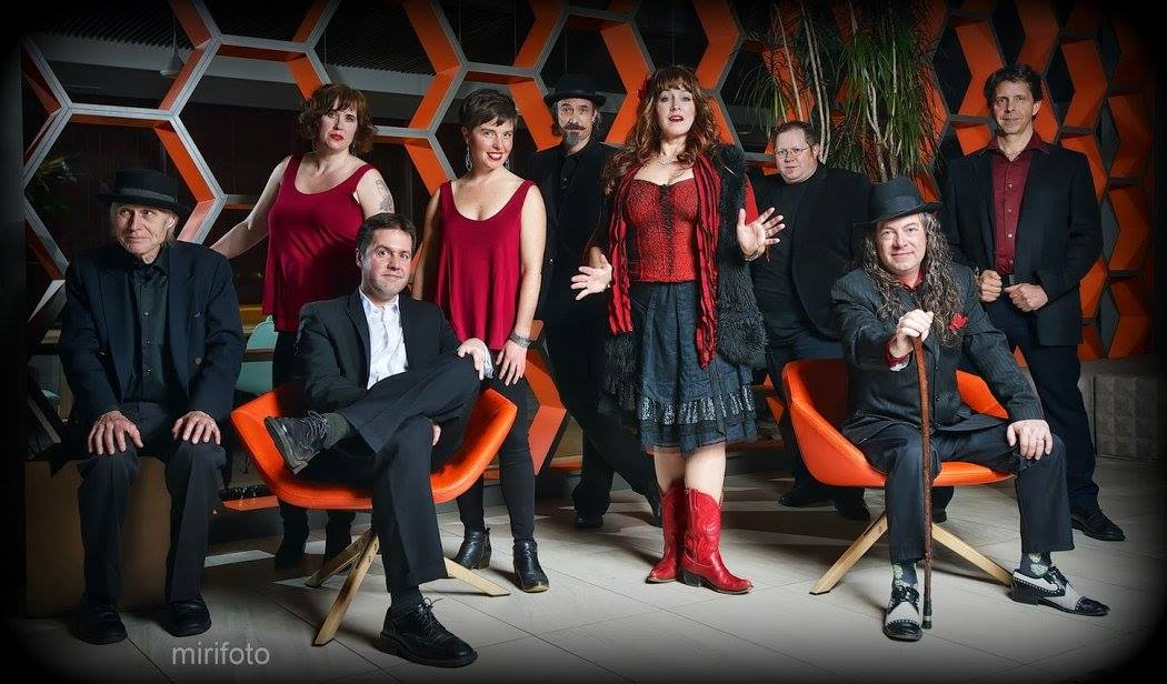Kris Deelane and the Hurt - This nine-piece Motown/Soul band is just plain crazy, sweaty fun!photo by mirifoto