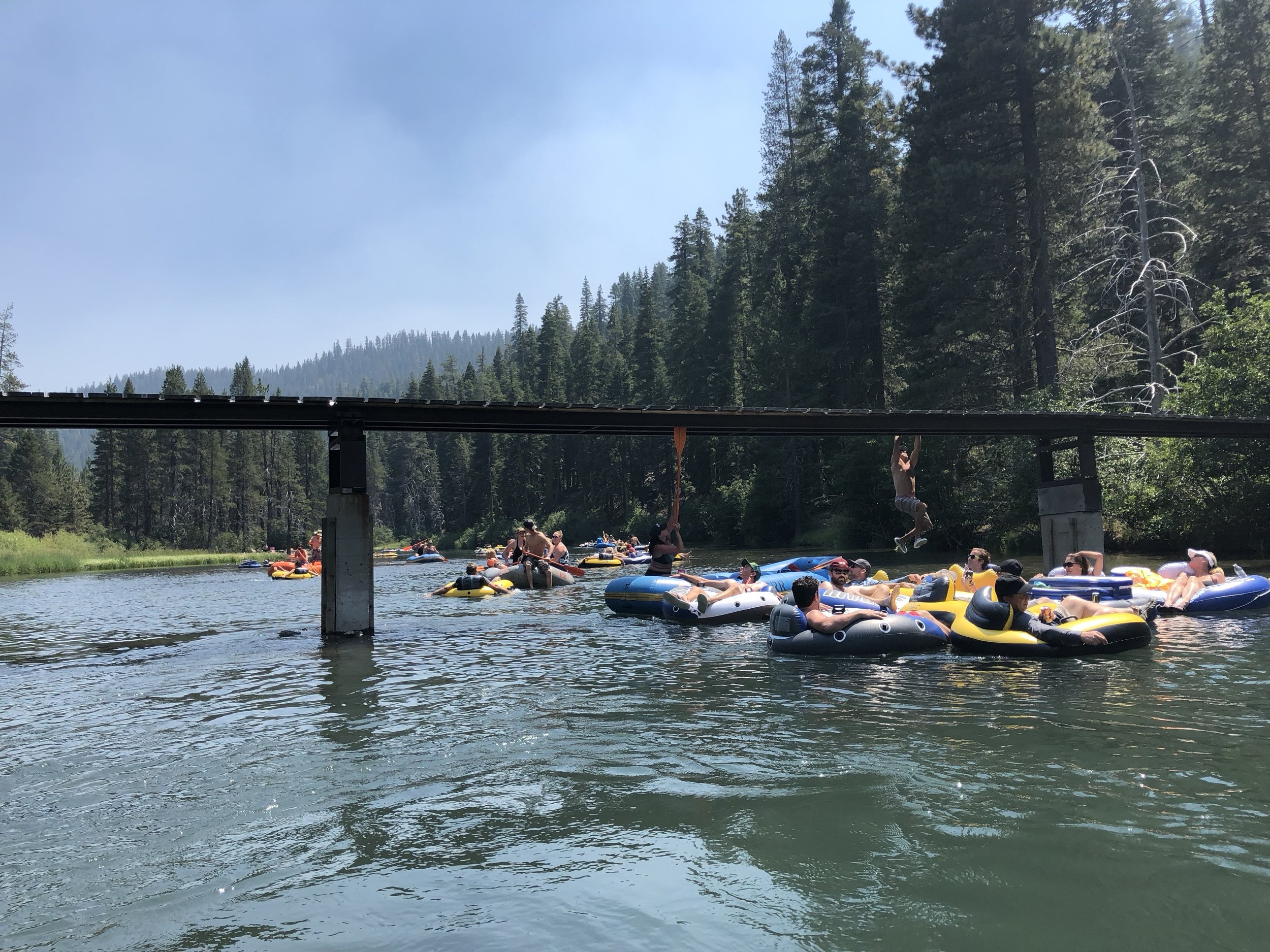 Weekend Warriors on the Truckee River