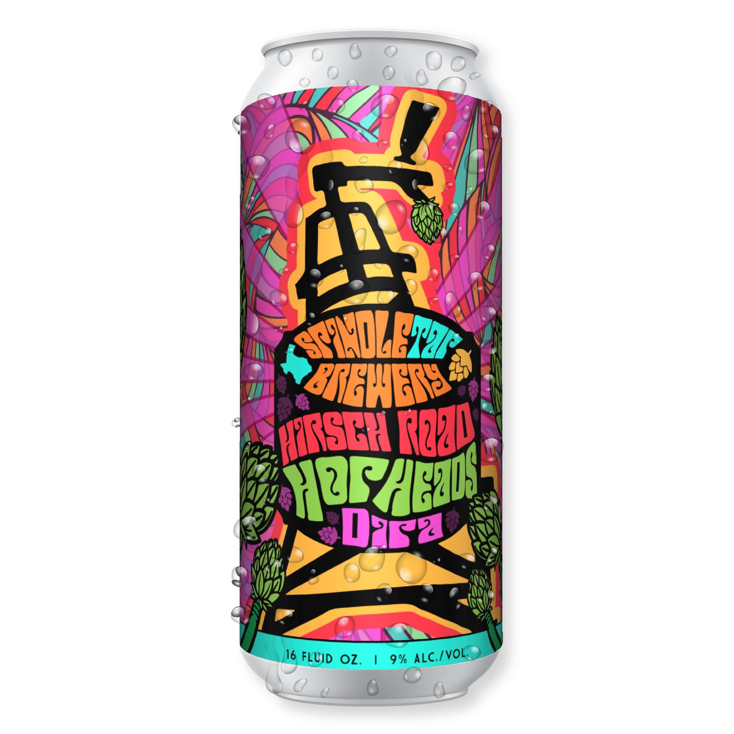 Hirsch Road Hop Heads - DIPA
