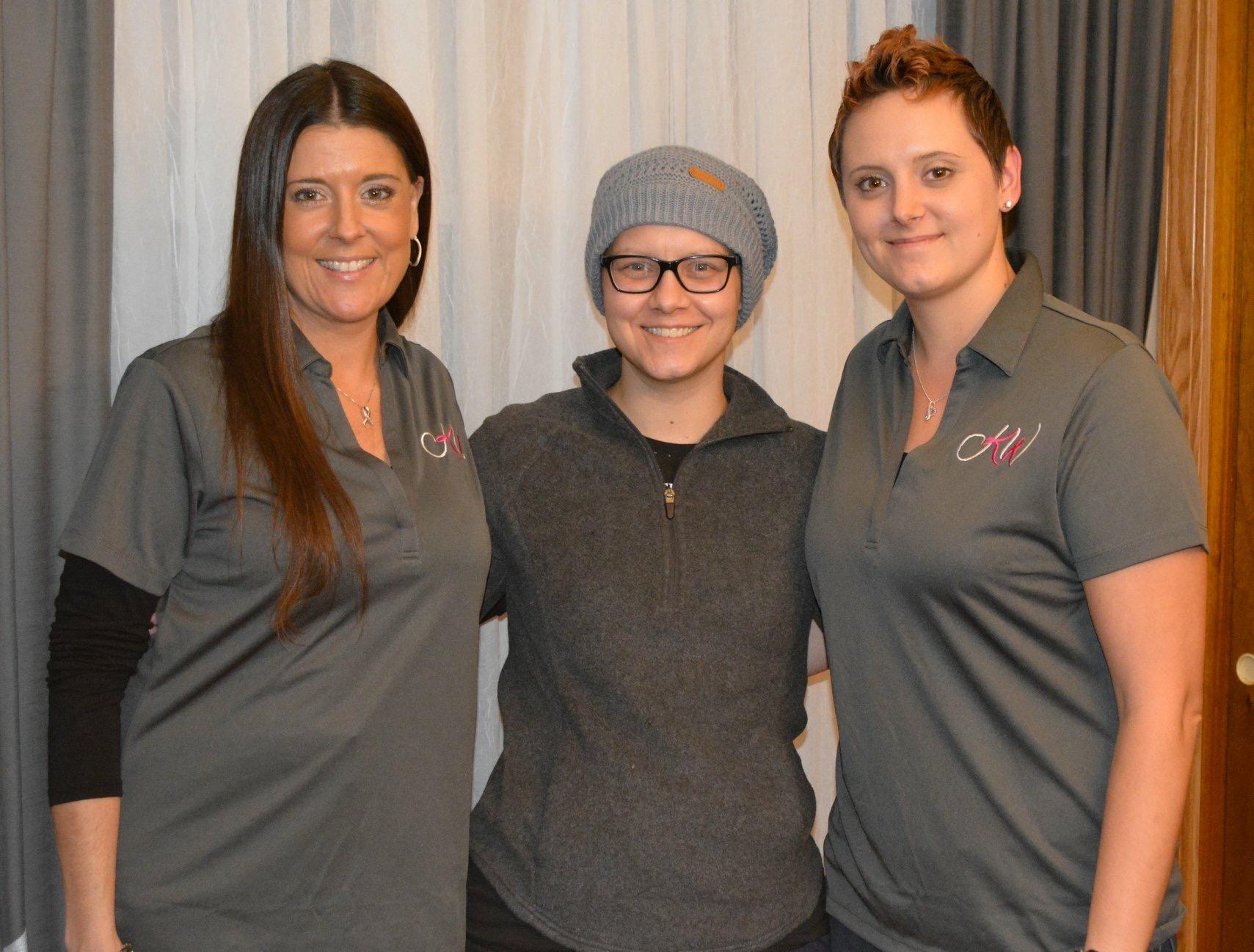Sherri McKinney, Andrea and Kristina Russell - 11/13/18