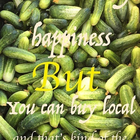 Stop by the liberty Lake Farmers Market and get your happiness on! Saturdays 9 AM to 1 PM#LLFM #SidewalkProduce #BuyLocal