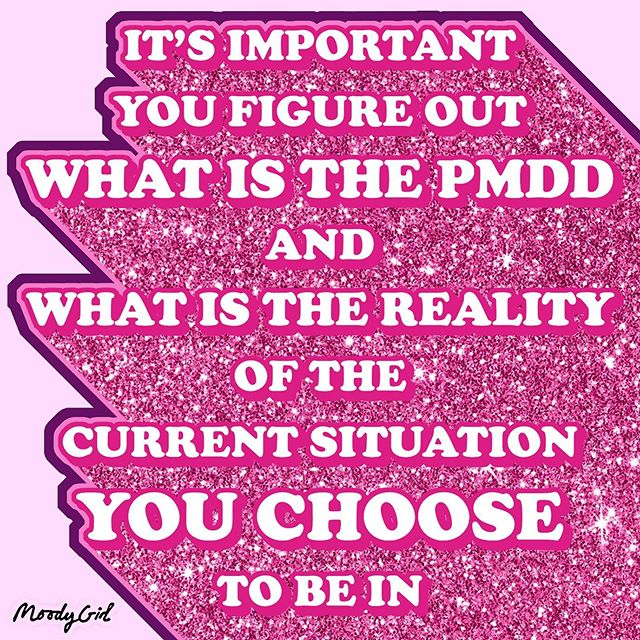 💫It's important you figure out what is the PMDD and what is the reality of the current situation you choose to be in 💫 • I've been thinking a lot about how although the feelings and symptoms of PMDD are very much REAL it is imperative that I distinguish between the monthly distresses of PMDD and external stresses that may also be affecting my mental health and well being.  Whether it be my current living situation, workplace, relationship, or friendships ALL of these will be having HUGE effects on how I'm feeling and how I get through each month. If you can honestly say that you know exactly when your feelings are a result of PMDD then this is a huge achievement in itself. • I know for me I am a highly emotional being and I tend to feel things deeply in my everyday life. With this is mind my months seem to pass me by so fast and as a result it can be a huge blur and then I'm left confused about lots of factors in my life. So what I'm asking you today is are you totally happy with every aspect of how your life is going? Are there things that keep getting brought up regardless of your PMDD or not? It's highly likely that the issue is not just the PMDD it's the reoccurring problems that are not being dealt with. • So far this month I have admitted to myself that I am not totally happy with my current situation and I've realised that this is actually okay and not something I should shy away from. The first step for me was admitting that and then figuring out what part is NOT working for me and HOW I can change this instead of blaming my PMDD for absolutely everything that is going wrong in my life. • It's up to me to be in charge of my own life and make changes that benefit myself. In turn the external stresses will be fewer and therefore help to alleviate my PMDD symptoms each month. • #moodygirl #moodythoughts #moodyboy #pmdd #pms #severepms #pmt #thoughtsofamoodygirl #moodylife #shinealightonpmdd #premenstrualdisorders #happiness #lifechoices #selfadvocate #lifewithaninvisibleilness #periods #letstalkperiods #breakthetaboo #mesntruation #feminism #anxiety #stress #externalstress #letstalkaboutperiods #wellness #mentalhealth #itsokaytofeelsad #hormones