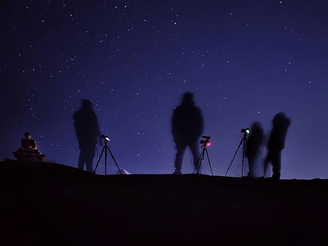 Back home after Spiti valley expedition for 10days  Here is a behind the scene snap from the beautiful Langza village, where me and my participants framing up the night sky by midnight at a freezing -5°C.  We had some great captures of milkey way and did star trails too, captures coming soon !  #spiti #spitivalley #langza #langzavillage #nightsky #nightskyphotography #keymonastery #himalayas #incredebleindia #insta #instagood #bbcearth #travel #landscape #photography #expedation #munishphotography #canonindia #canonasia @bbc_travel @natgeotravel @lonelyplanet @lonelyplanetindia @nature.geography @himalayangeographic @canonindia_official @canonasia @munish.palaniappan #letsguide
