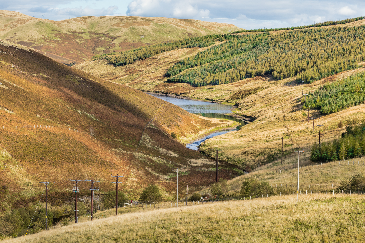 Upper Glendevon Reservoir