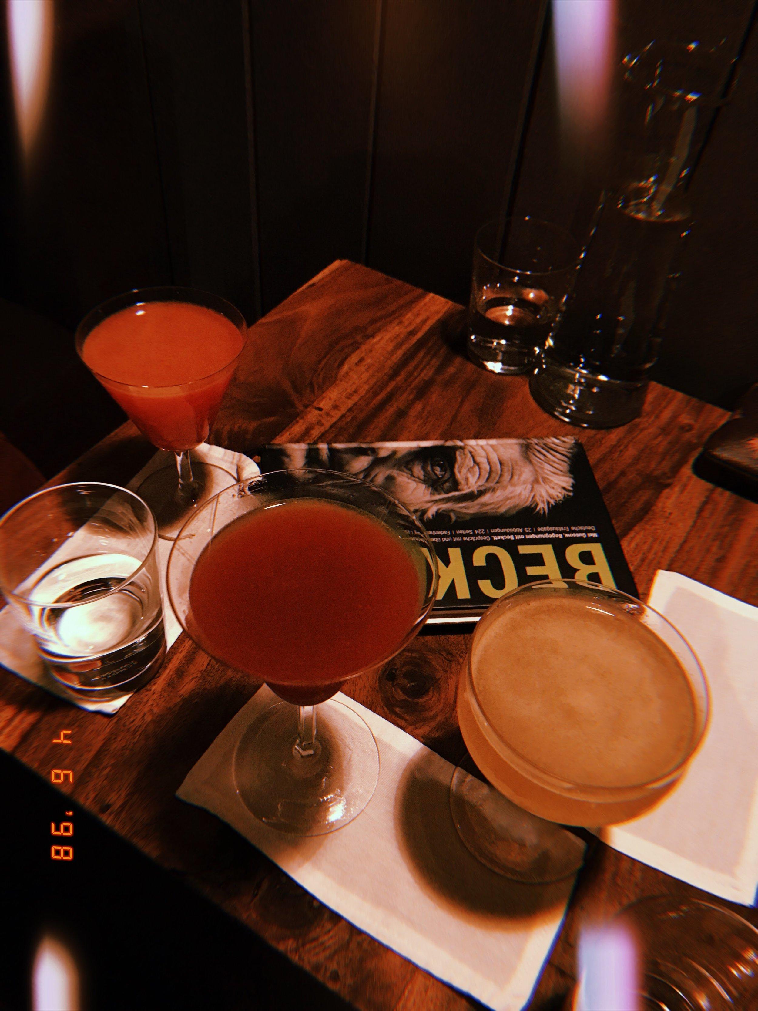 Bar Becketts Kopf