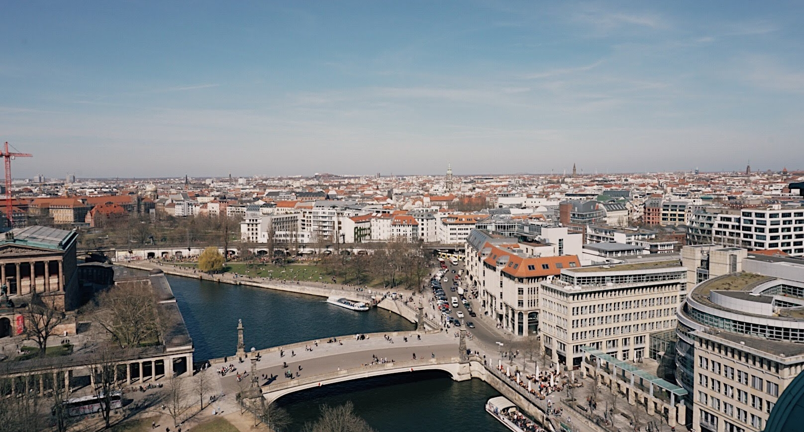 Panoramic views from Berliner Dom