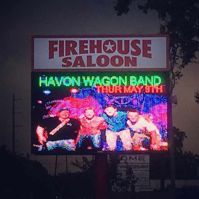 The storm before the calm before the storm. #dontbescaredoftherain come on out to Firehouse Saloon tonight.