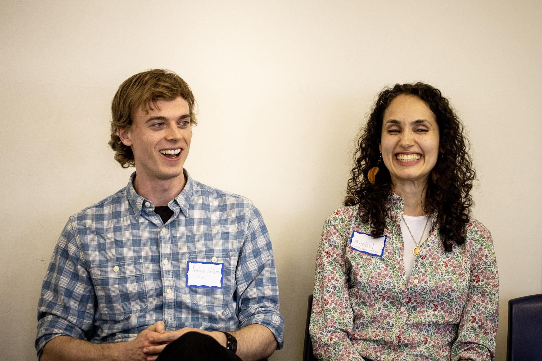 Aidan Nelson and Anabel Goa.
