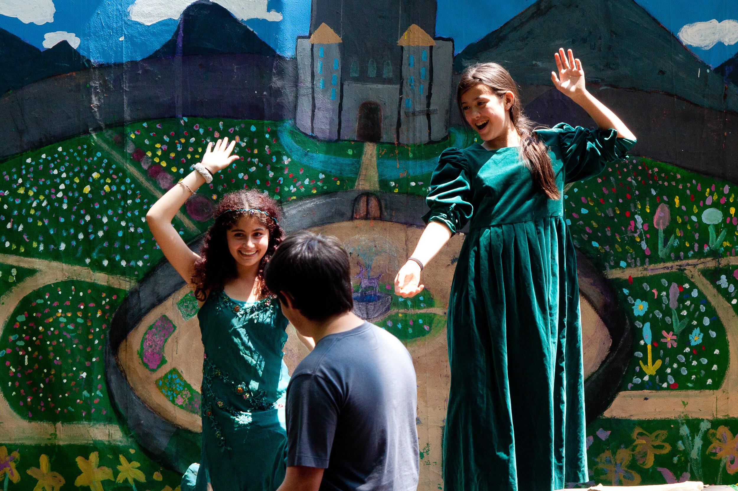 Indigo in the Blue Rock 7/8 grade play, 2013