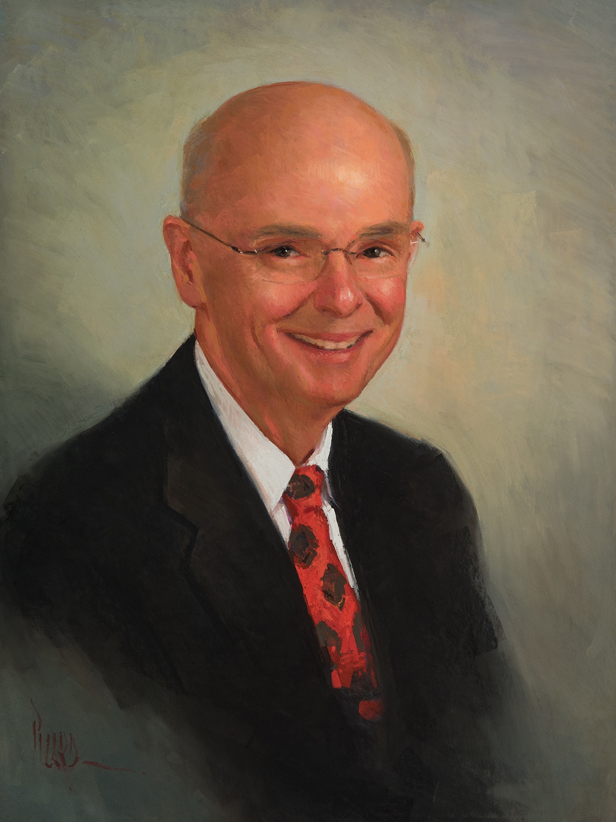 Dr. O'Connell, pastel 24x18""