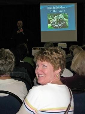 Debbie at SE Flower Show