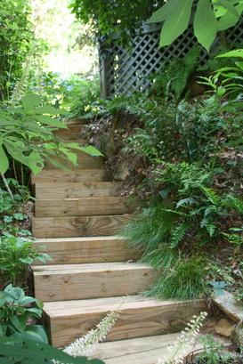 Quiet Walkway welcomes in Miller Garden