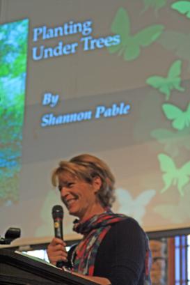 Our speaker for November Shannon Peebles