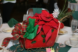 2011 Holiday Luncheon Centerpieces