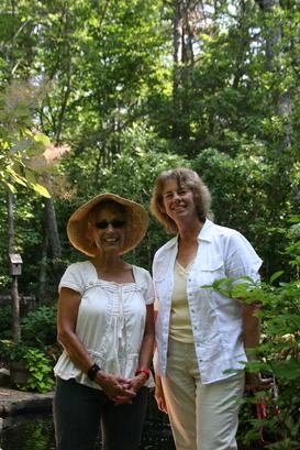 Tour Hostess Anita Rosen with Ginny Shoup