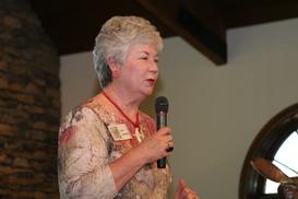 Susie Brogdon updates club on events