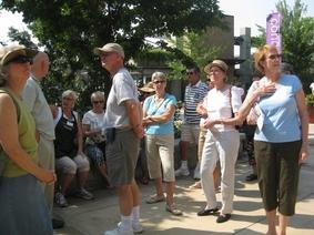 Our gang at Atlanta Botanical Garden 6-15