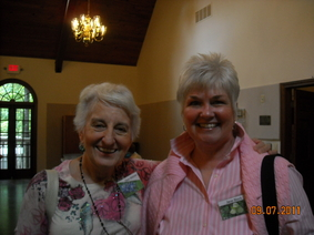Faye and Jane at August Meeting