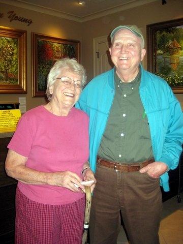 Gordon and Louise at Gibbs