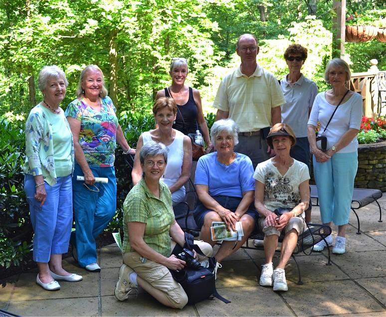 Our gang at Gibbs Gardens
