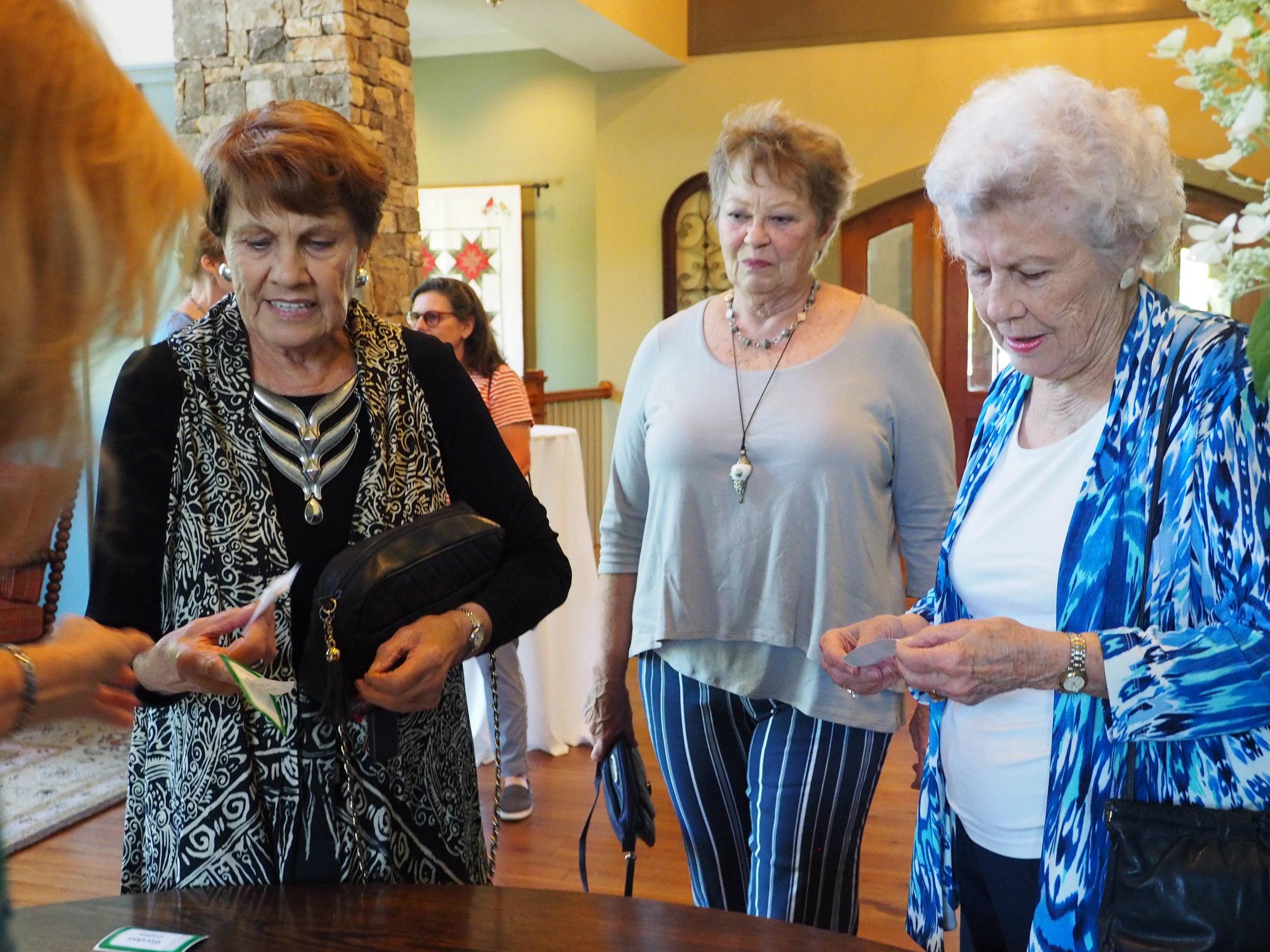 Donna Wright, Erika Jaskiewicz and Vida Andersen