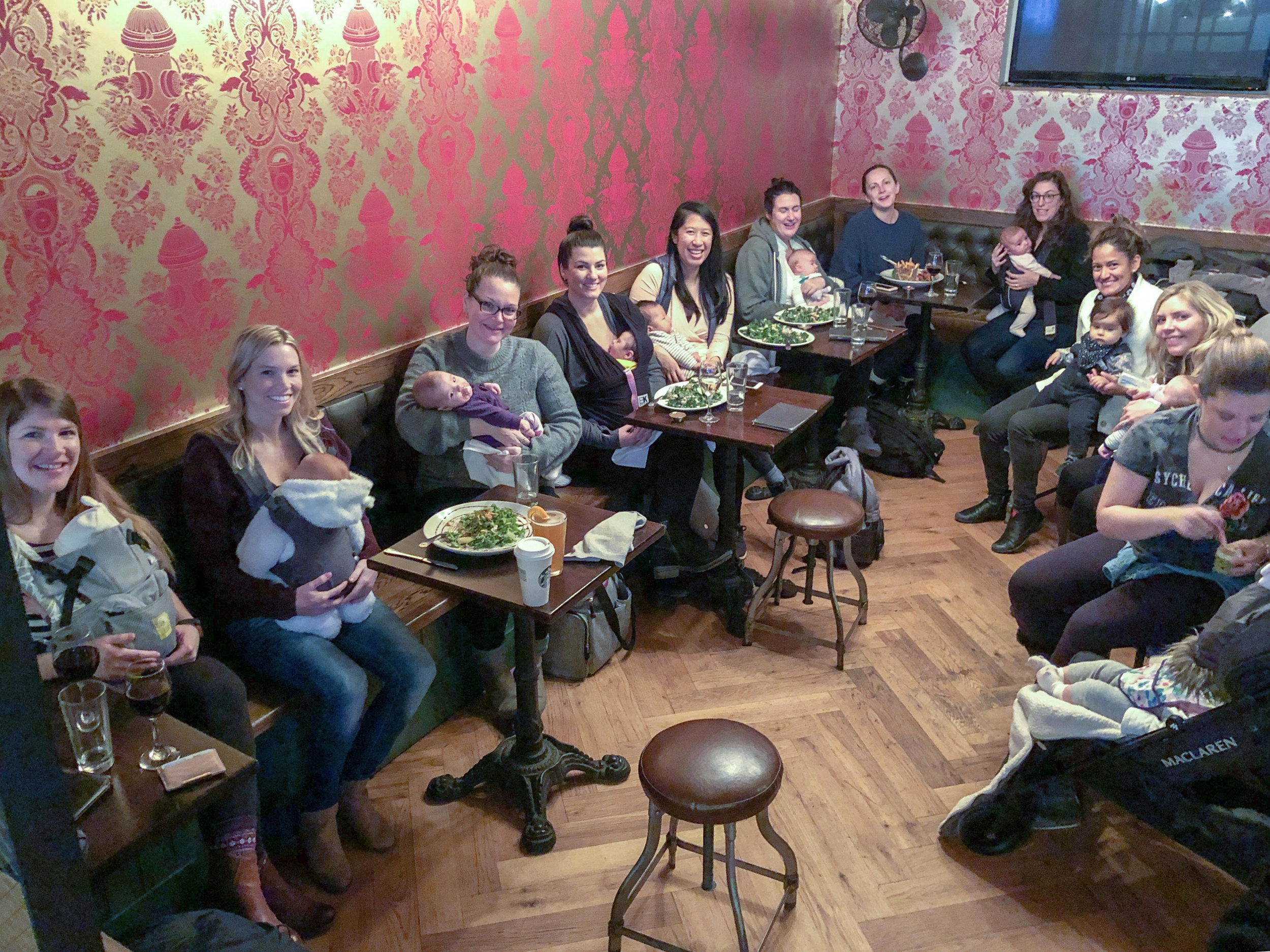New Mom MeetUp - Our weekly meetups for new moms are a great way to connect with others in the neighborhood who have babies around the same age. First-time or second-time moms with babies 0-12 months are welcome to attend. Currently running in Union Square, UES, UWS, Tribeca and Williamsburg.