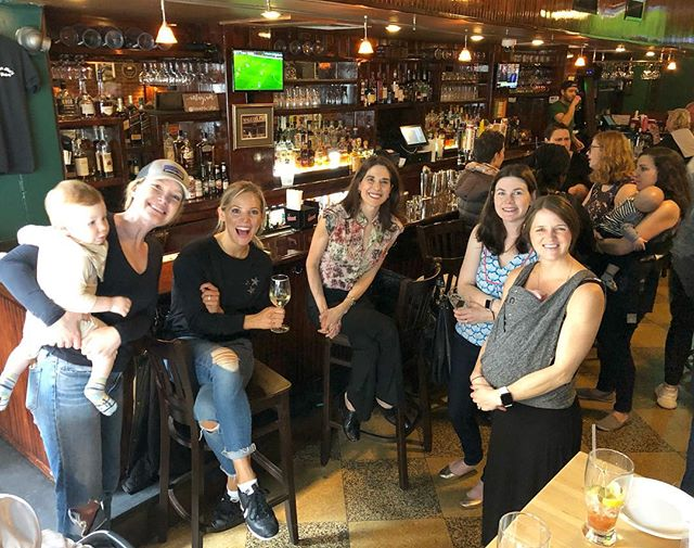 We ❤️ you, UWS! What a great turnout for today's Wine 🍷 & Whine 🍼 Happy Hour (even more moms not pictured) – and such a nice, fun bunch too. Stay tuned for a regular New Mom MeetUp in the 'hood soon... MomMeetUps.com
