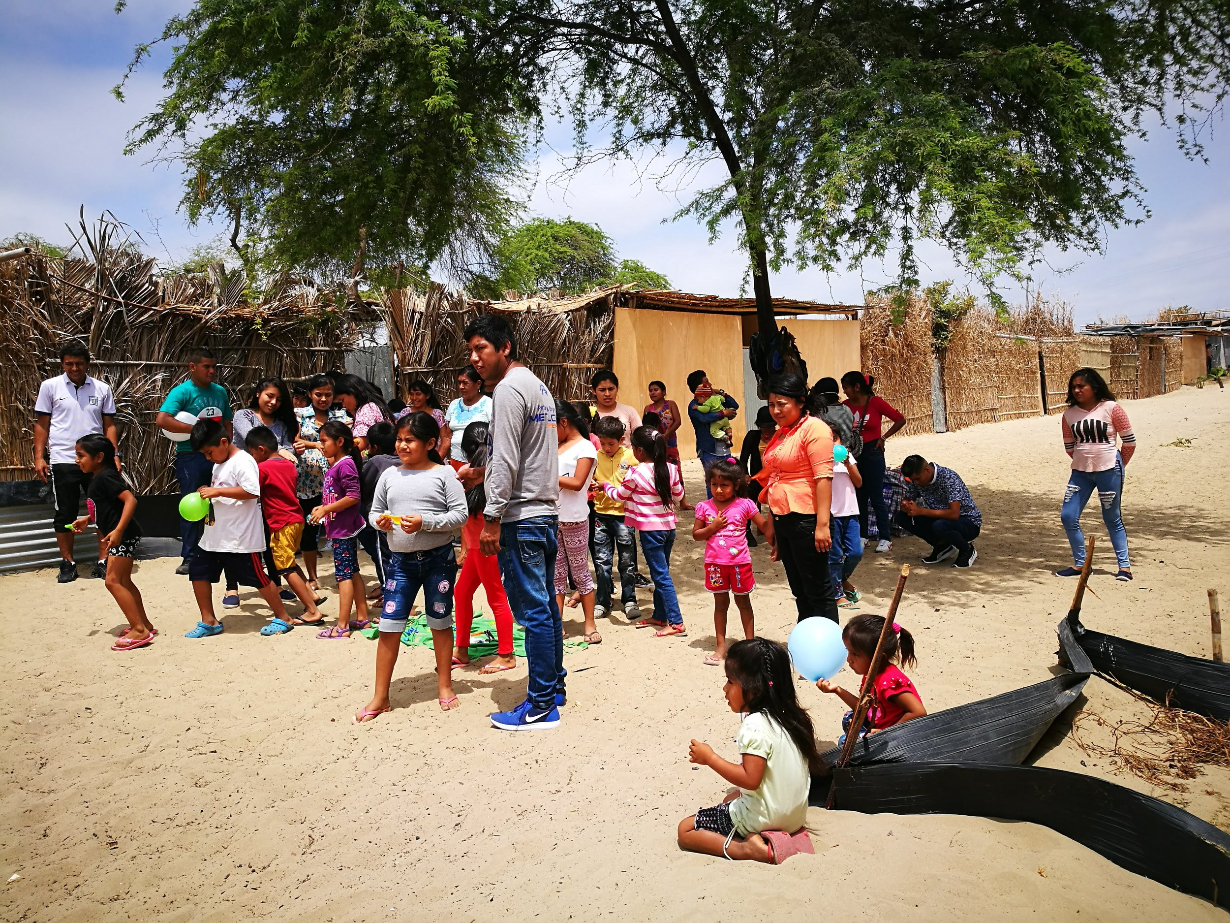 Proyecto Lluvias / Recuperación tras el Niño Costero -