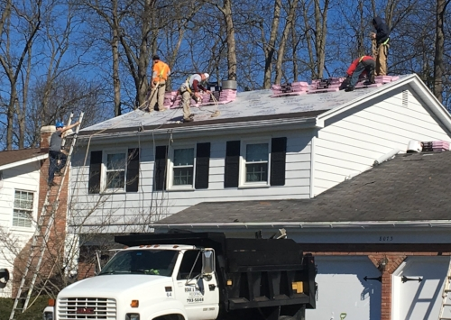Full roofing project