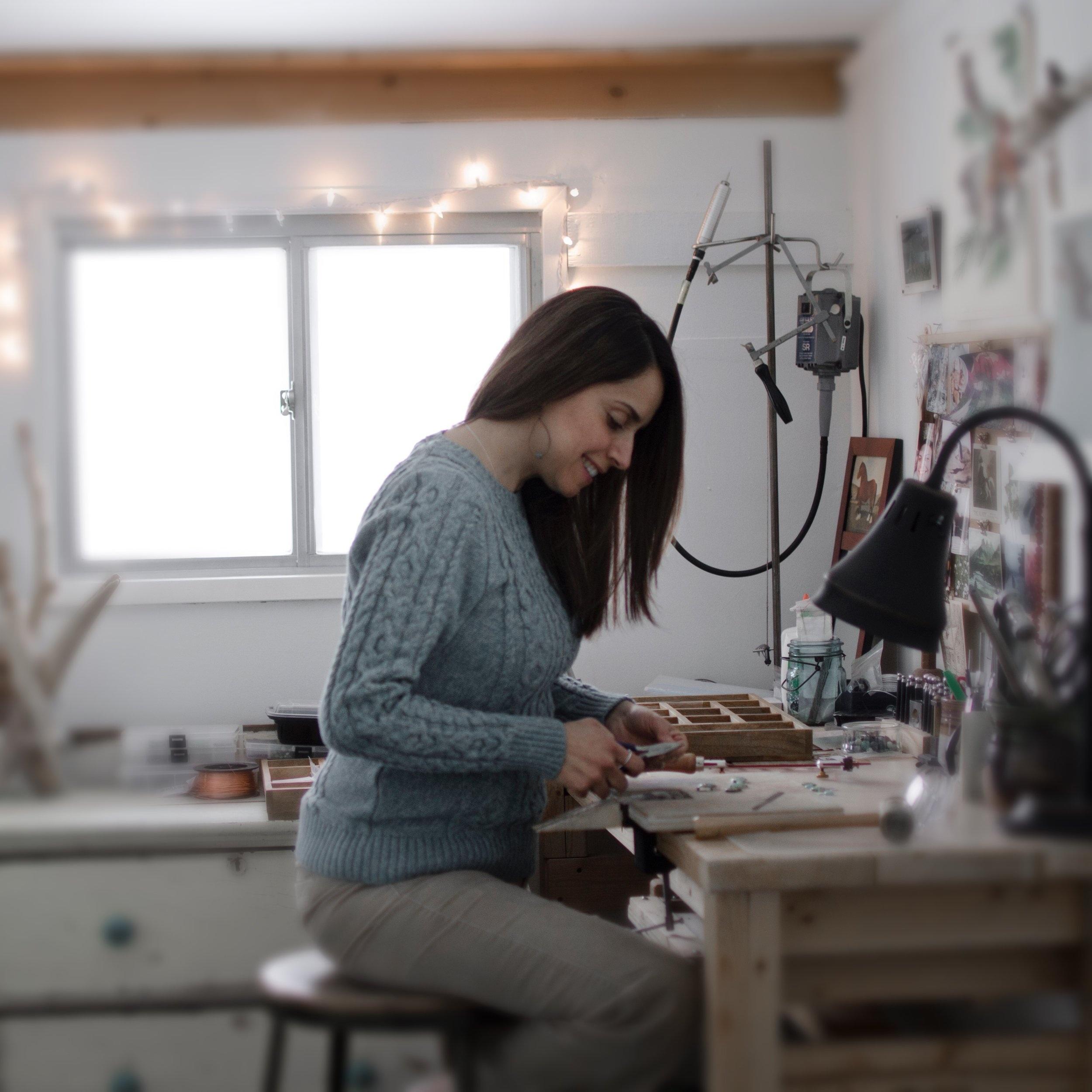 Carolina Gonzalez - Hand Made Silver Jewelry and Enameled Jewelry