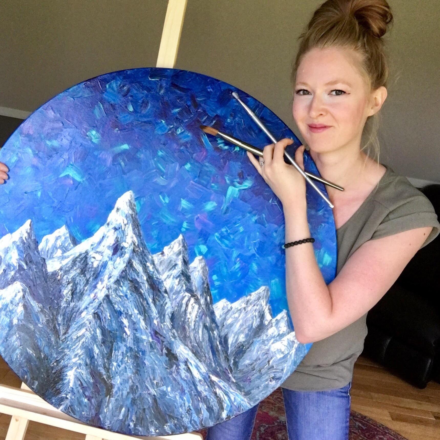 Bethany turner - Studio B Art | Acrylic Artist