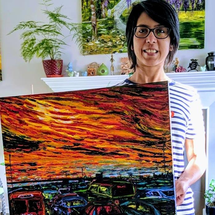 Runa Gedam - Oil Painter