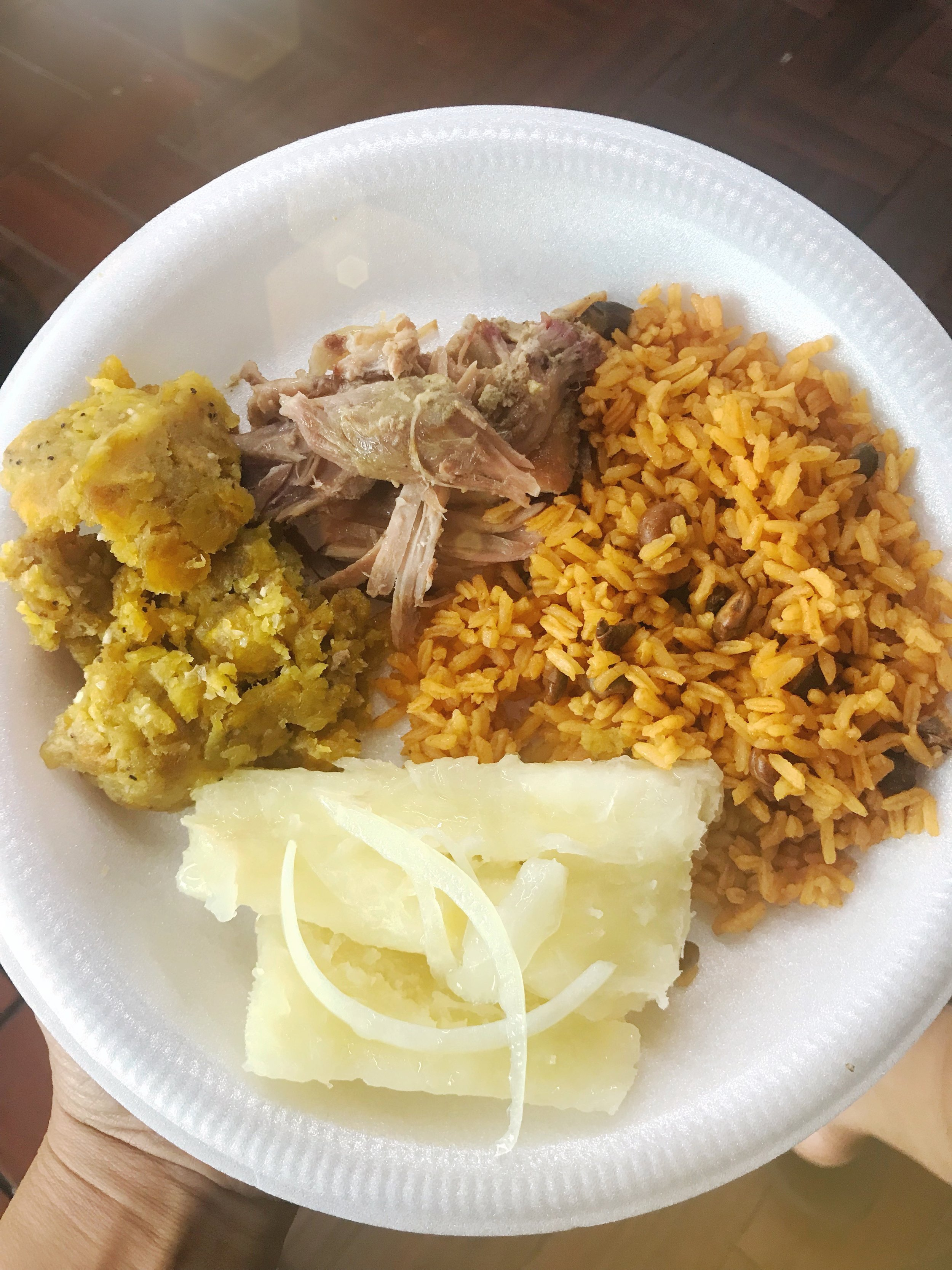 Typical Puerto Rican cuisine, which has deep roots in West African gastronomy