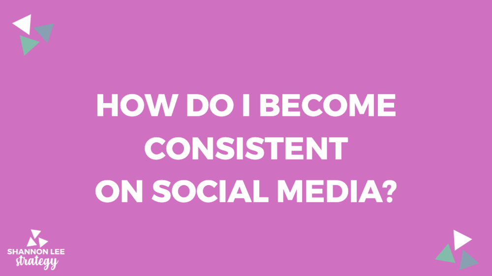 My most asked question: How do I become consistent  on social media? Many of you go out the gate, go gangbusters on social media and then, you get burned out by scheduling tons of posts that aren't relevant.  Here are some steps to take to ensure that doesn't happen.  📌 If you're just starting out, pick only TWO topics to consistently post about on a regular basis. That's exactly what I'm doing with this #TipTuesday. You know me for this and you come here for it! If it went away, I'm sure I'd hear about it.  📌 Grab social content from your website. These can be items from your FAQ page, services/products info, customer testimonials or blog content.  📌 Grab social content from your website. These can be items from your FAQ page, services/products info, customer testimonials or blog content.  📌 Google National Days of the Month for social media content ideas relevant to your business  📌 Start out posting your social content on social media channels your ideal client hangs out. Not everyone's ideal client is on Instagram or LinkedIn so figure out where they will best consume your social content.   ACTION ITEM: Pick only TWO topics to consistently post about on a regular basis. Block out an hour each week to prep the photos, video or graphics you need THEN write up the copy. Schedule them or post on that day and you'll be thanking me for this hack later.