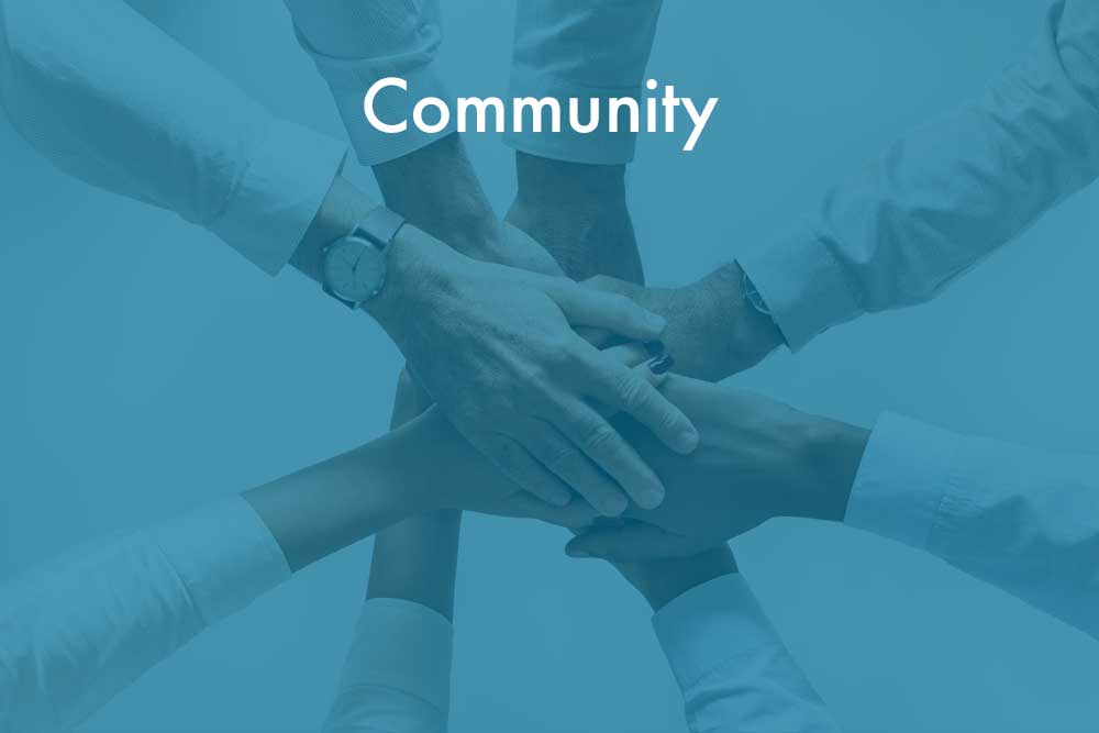Embrace a community of like-minded peers who are leaders in the industry and continuous learners. We are committed to serving our clients and creating a positive impact on their communities.