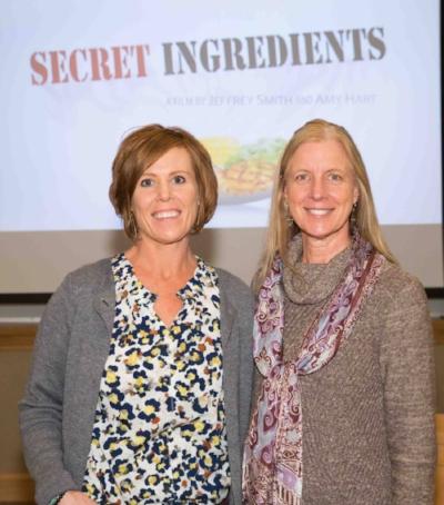 Kathleen DiChiara and Amy Hart
