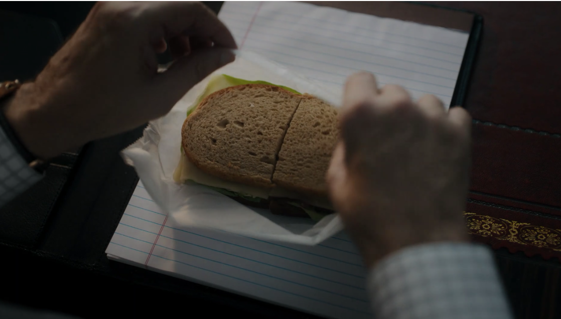 We always thought of Chuck as more of a white bread kind of guy…This is a character development worth noting. Perhaps he's trying to shed those extra pounds he gained while wallowing in the decimation of his career.
