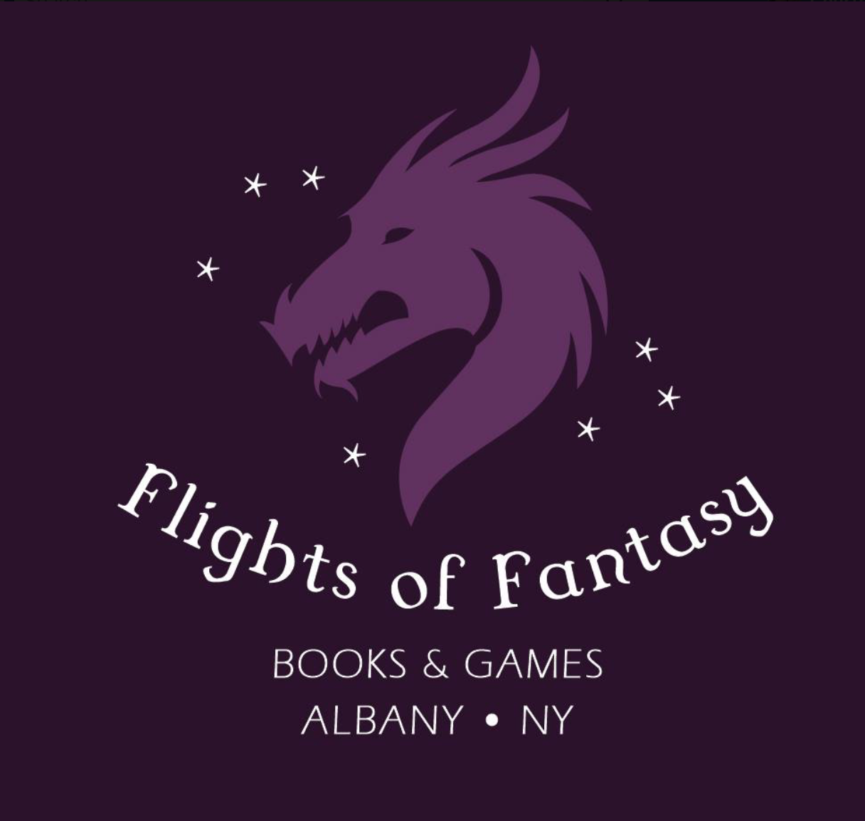 Adventure awaits at Flights of Fantasy Books & Games. We sell sci-fi and fantasy fiction as well as collectable card games with an emphasis on Magic The Gathering.