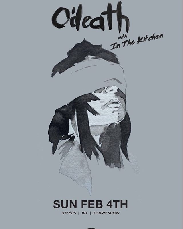 This Sunday, we're kicking off a great night of fiddle-driven dark-folk, opening for @odeathmusic (members of Skeleton Breath) at @bspkingston !  Hope to see your faces there in the shadows! #itk #bsp #odeath #kingston #hnkrdwn