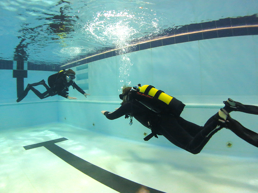 Open Water Course - Learn to dive! Your journey starts here… This course gets you qualified to dive independently up to 18 meters deep.